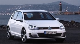 volkswagen golf gti - wallpapers, picture