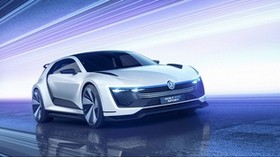 volkswagen golf, volkswagen, gte, sports car, concept - wallpapers, picture