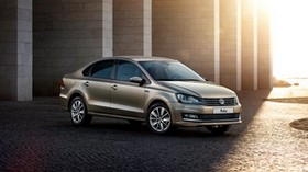 volkswagen, sedan, typ 6r, polo, side view - wallpapers, picture