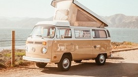 volkswagen t2, volkswagen, van, machine - wallpapers, picture
