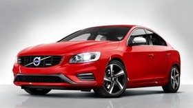 volvo, s60, red, side view - wallpapers, picture