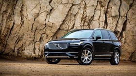 volvo, xc90, awd, black, side view - wallpapers, picture
