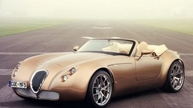 wiesmann roadster mf5, wiesmann auto-sport, convertible, side view - wallpapers, picture