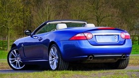 jaguar, convertible, side view - wallpapers, picture