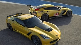 z06, z06, sports car, chevrolet, yellow - wallpapers, picture