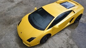 yellow, lamborghini, lamborghini - wallpapers, picture